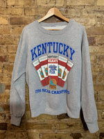 Kentucky Wildcats Ncaa Champions Crewneck M
