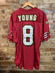 49ers Young Authentic Jersey 48 / XL