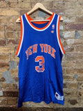 New York Knicks John Starks Jersey Sz 48