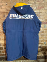 San Diego Chargers Stadium Trench Coat XL