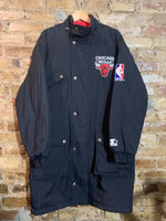 Chicago Bulls Stadium Trench Coat M