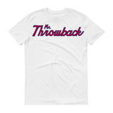 Throwback Script Red / Blue Design