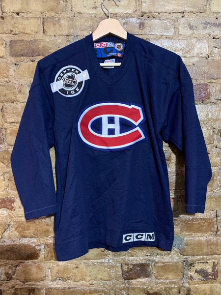 Montreal Canadiens Center Ice Jersey Youth L/XL