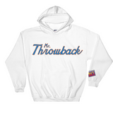 Throwback ScrIpt Orange / Blue Design
