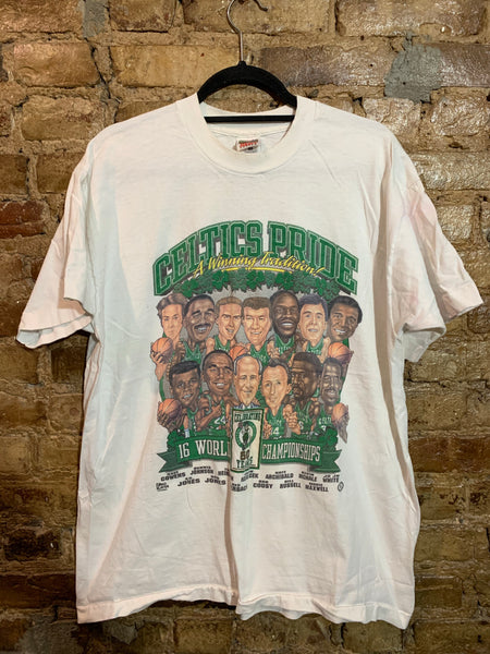 Celtics Characters Shirt XL