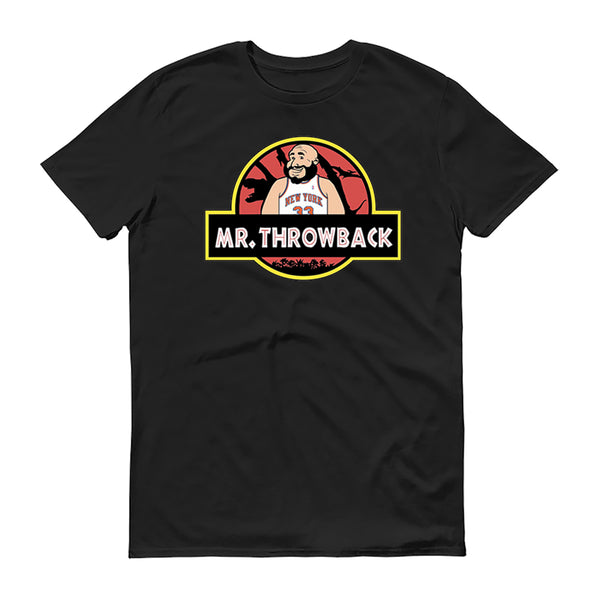 Mr Throwback Jurassic Park Design