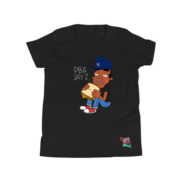 Throwback x Gripless PB & Jay Z Youth Tee