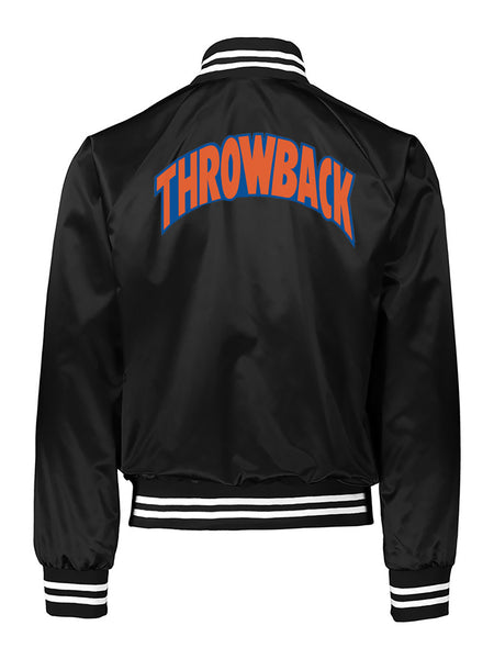 Big Apple Throwback Satin Jacket