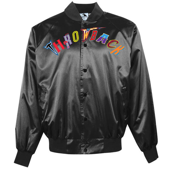 Throwback NBA Satin Jacket