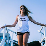 Beach Please Beach Tank Top