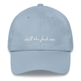 Light Blue Chill TF Out Cap
