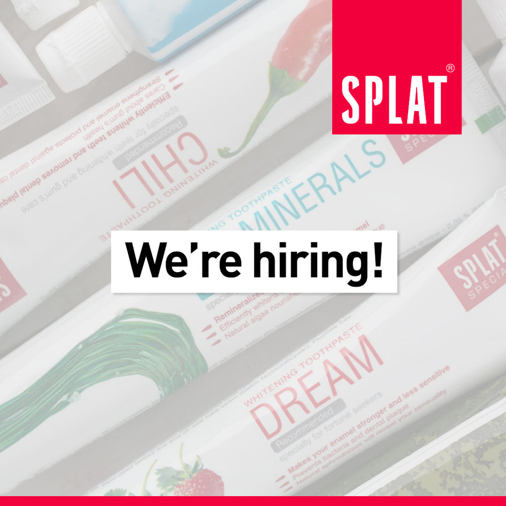 Vacancy for SPLAT Brand Representative