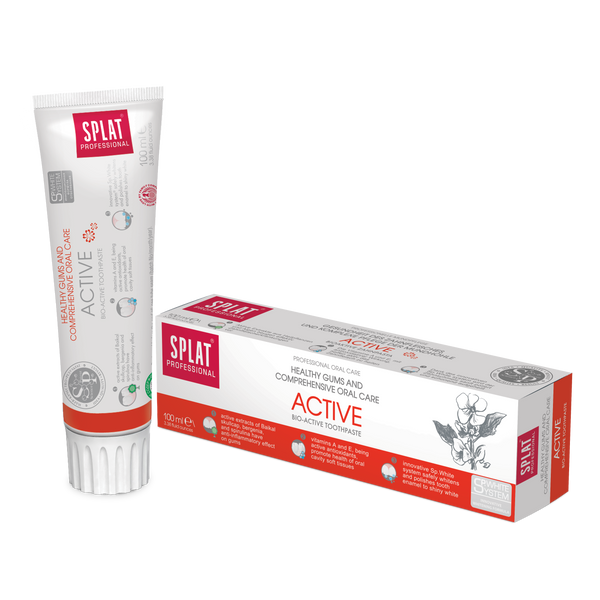 SPLAT PROFESSIONAL ACTIVE Toothpaste - twentyfiveoseven Limited