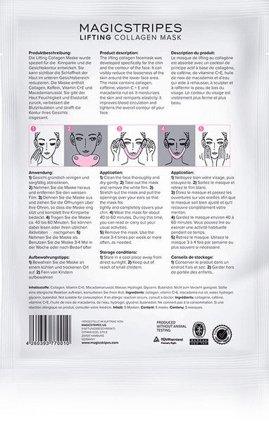 LIFTING  COLLAGEN  MASK - twentyfiveoseven Limited