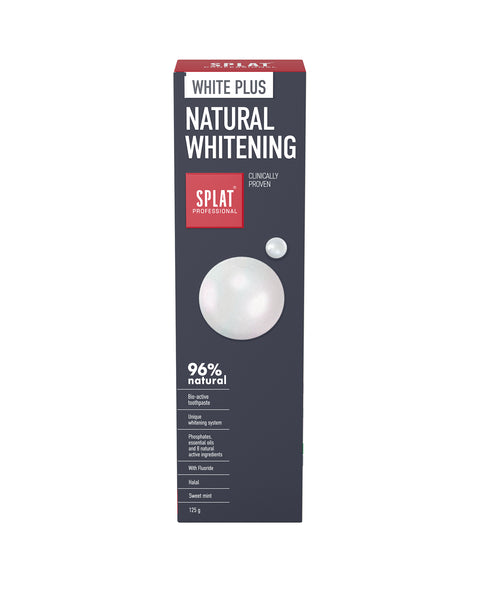 SPLAT PROFESSIONAL WHITE PLUS Toothpaste - twentyfiveoseven Limited