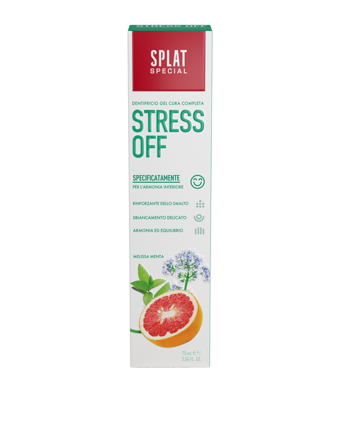 SPLAT SPECIAL STRESS OFF toothpaste - twentyfiveoseven Limited