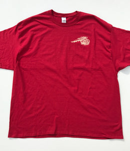 Kafka Brushes T-Shirt - Red