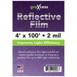 GroXcess Reflective Film 2 Mil, 100'