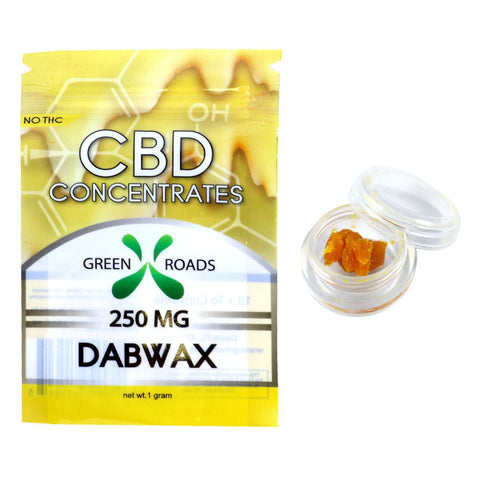 CBD Dab Wax 25% 250MG, 1 Gram