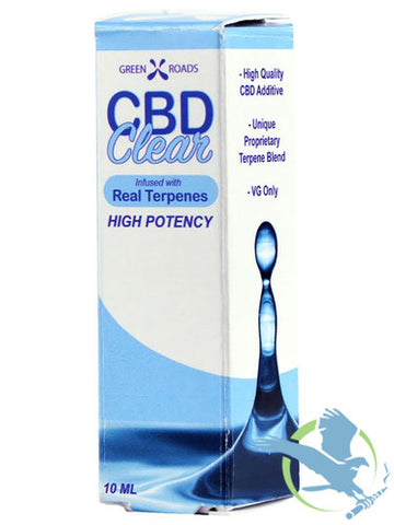 CBD Clear Real Terps 75MG, 10mL
