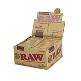 Raw Connoisseur Rolling Paper And Tips 24 Count