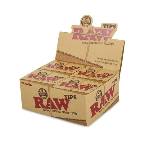 Raw Pre-Rolled Tips 20 Count