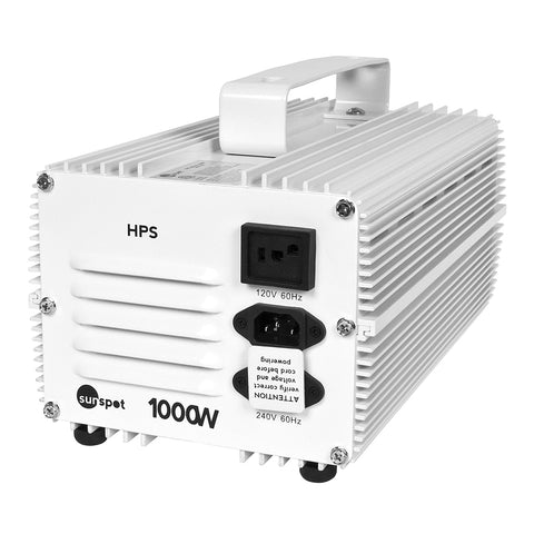 Sunspot HPS Ballast, 1000W 120/240V