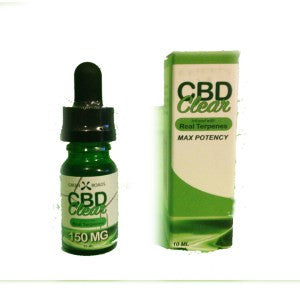 CBD Clear Real Terps 150MG, 10mL