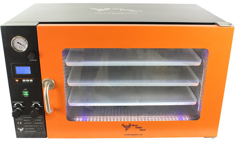 3.2CF WIDE BVV Vacuum Oven - LCD Display and LED's - 3 Individual Heated Shelves