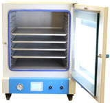 7.5CF Lab Series Vacuum Oven - 5 Wall Heating, Touch Screen, LED's, Electronic Valves - 4 Shelves Standard