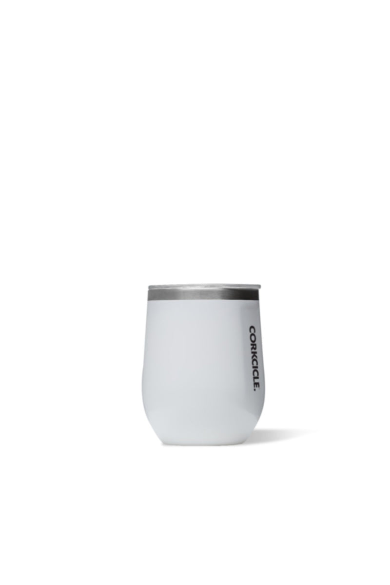 Corkcicle  12 oz. Stemless in Gloss White