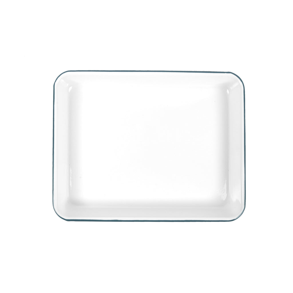 Crow Canyon Home Small Rectangle Tray - Turquoise
