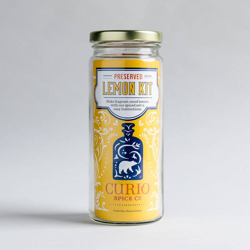 Curio Spice Co. Preserved Lemon Kit