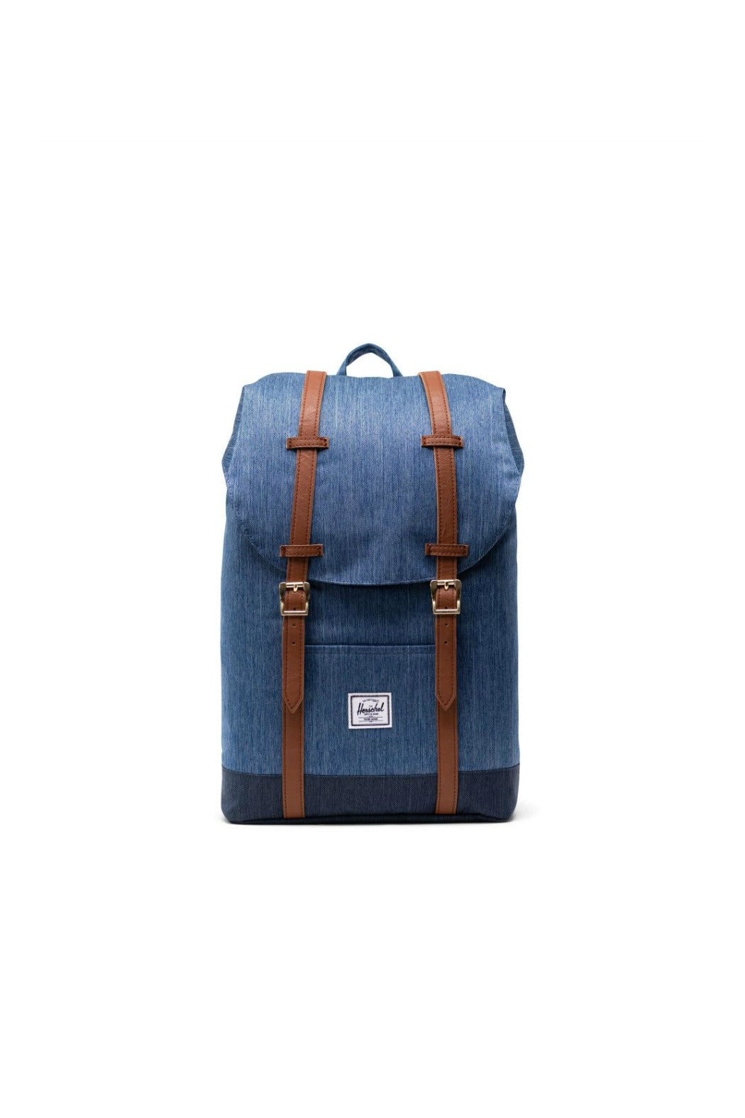 herschel supply co retreat rucksack indigo denim