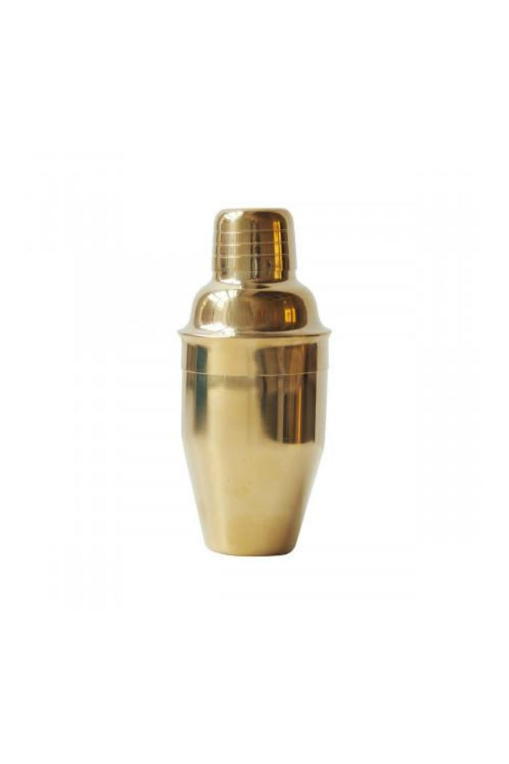 Roost Polished Small Brass Martini Shaker