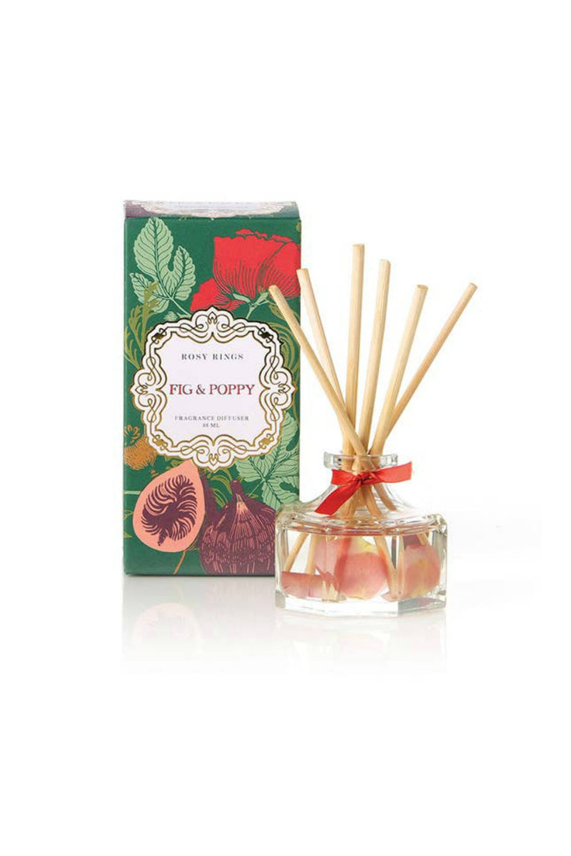 Rosy Rings Petite Diffuser - Fig & Poppy