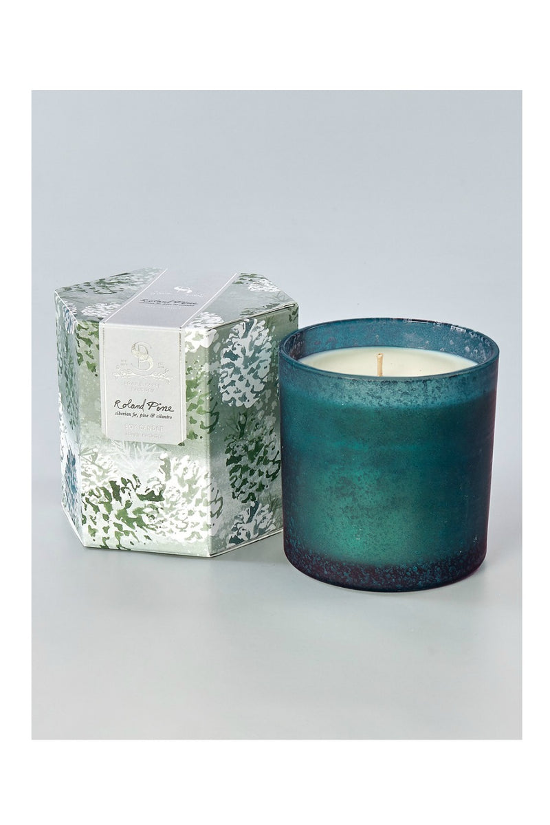 The Soap & Paper Factory 15.5 oz  Artisan Soy Candle- Roland Pine