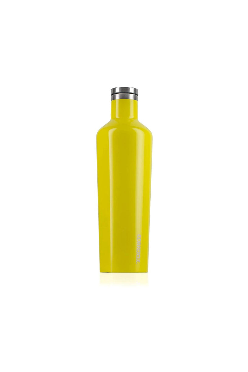 Corkcicle 25 oz. Canteen - Gloss Lemonade