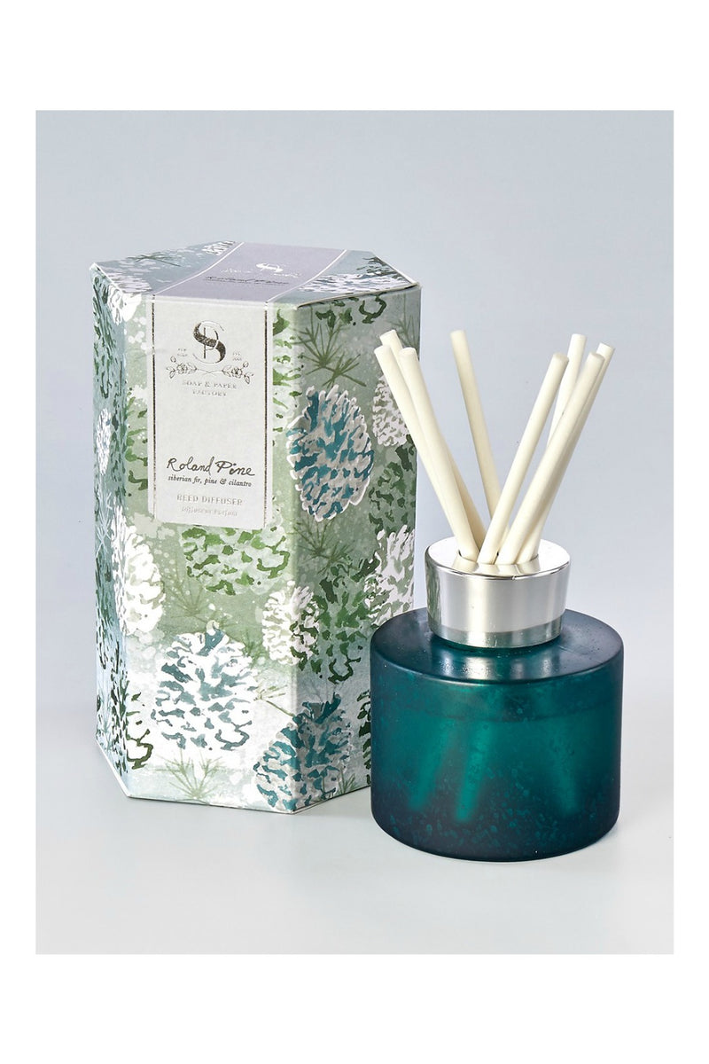 The Soap & Paper Factory 4 oz Artisan Diffuser Roland Pine