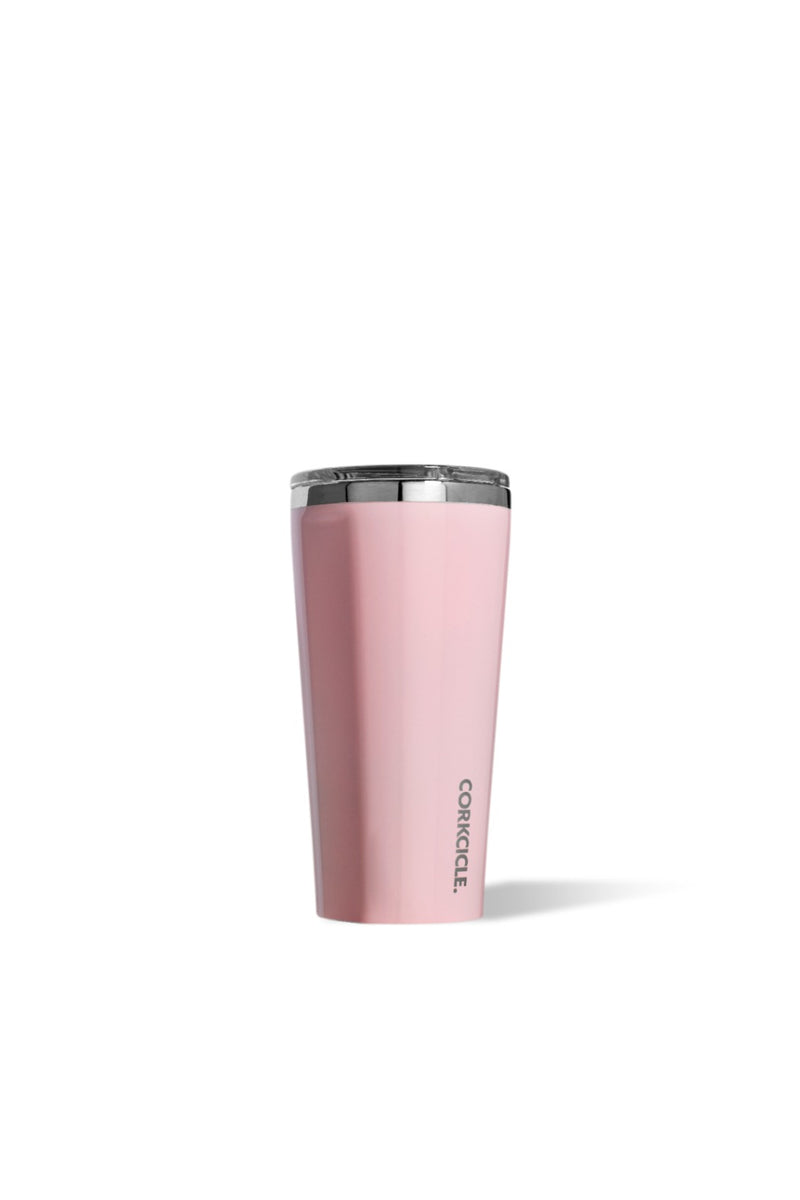 Corkcicle 16 oz. Tumbler in Rose Quartz