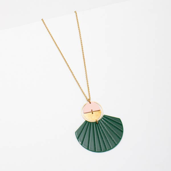 Larissa Loden Ida Necklace - Green