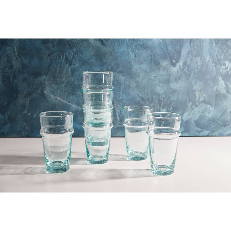 Moroccan Beldi Glass - Clear