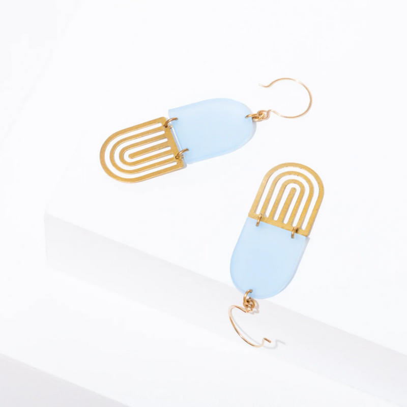 Larissa Loden Marlow Earrings - Blue