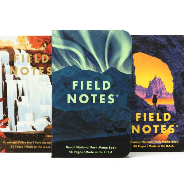 Field Notes National Parks - Series E