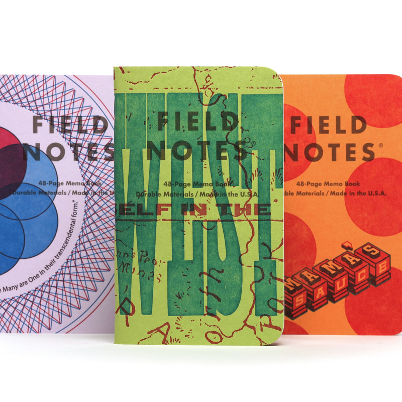 Field Notes United States of Letterpress: A