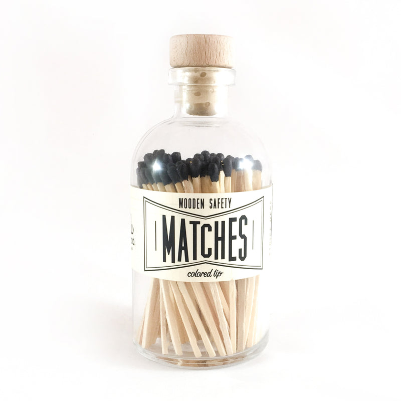 Vintage Apothecary Matches - Black