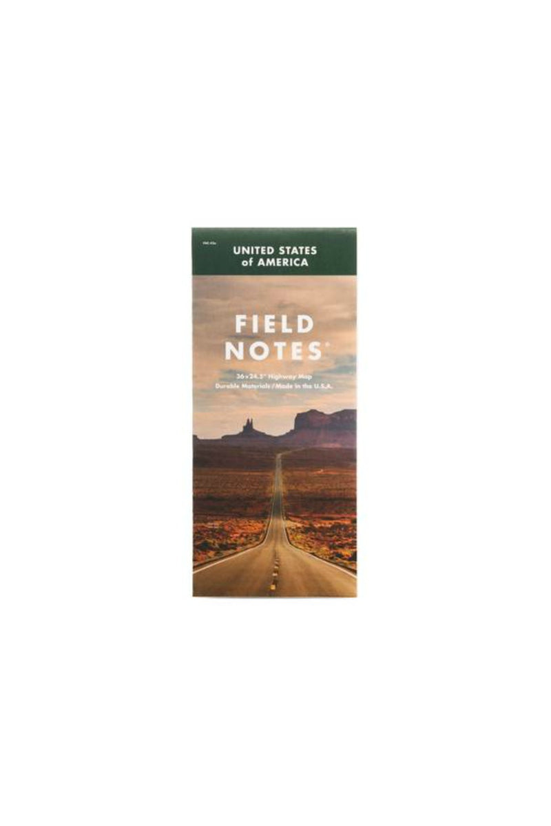 Field Notes National Highway Map