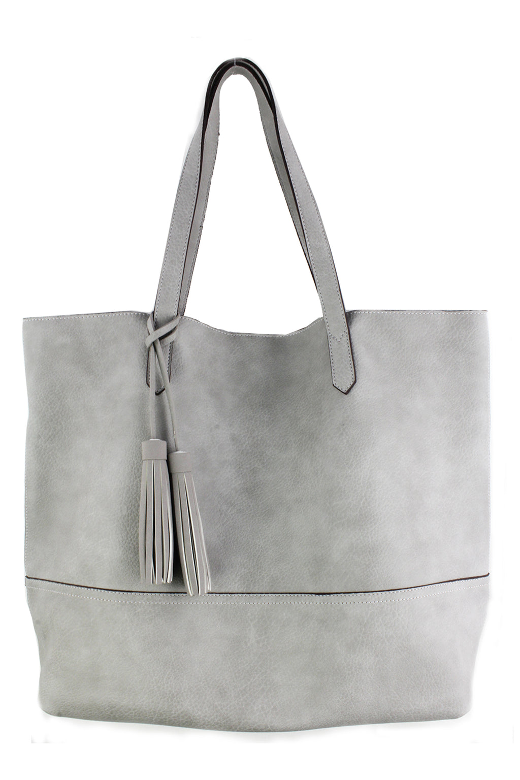 Street Level Babette Tote - Light Grey