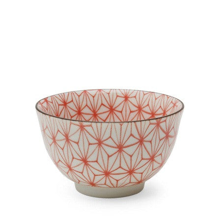 Asanoha Colors Bowl - Red