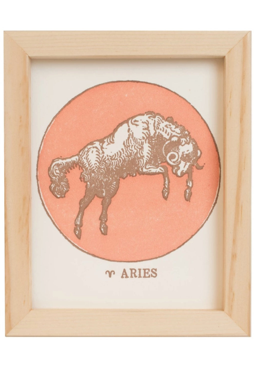 Margins Zodiac Card - Aries
